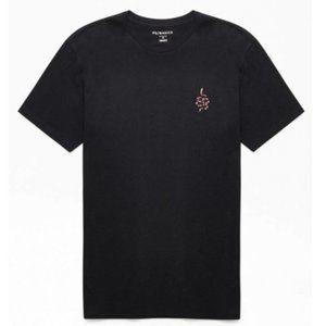 PacSun Basic Arjun T-Shirt w/ Snake Graphic - L